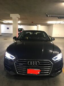 2018 Audi A5 Coupe lease take over.