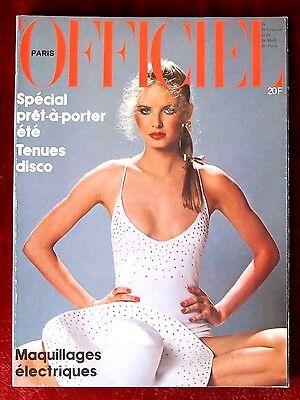 L'Officiel Paris Magazine ~ #652 May 1979 ~ Patrick Bertrand Haussaire Bianchini