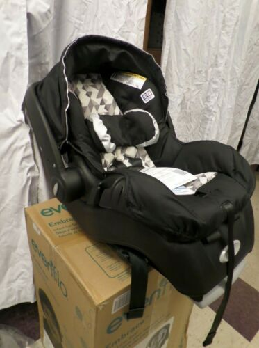 New Safest Evenflo Embrace LX Infant Car Seat 4-34 Lbs. Side Impact Tested
