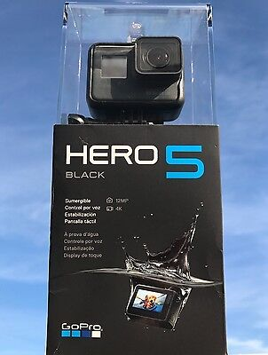 NEW GoPro HERO 5 Black 4K SPORT Action Camera SAME DAY SHIPPING WORLDWIDE Wi-Fi