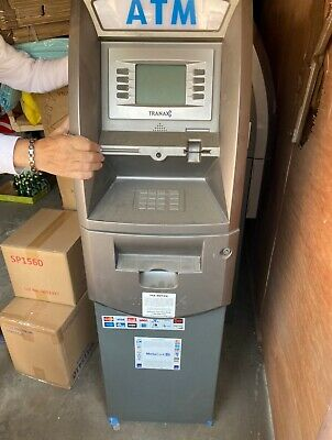 2 Tranax Working Atm Machine