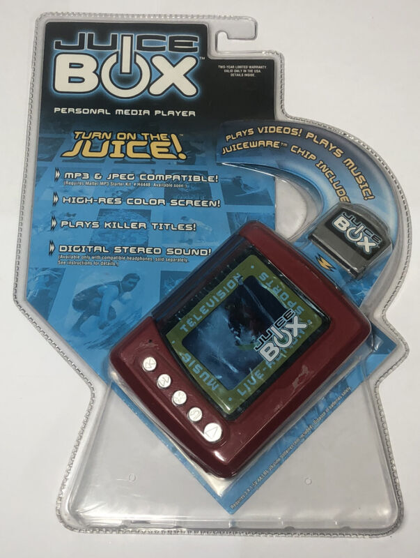 Mattel Inc. Juice Box Personal Media Player - Red Fast Shipping!!