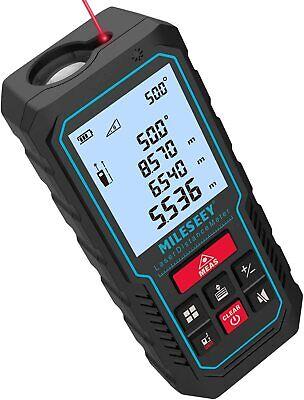 70m/229ft Handheld Digital Laser Point Distance Meter Measure Tape Range Finder