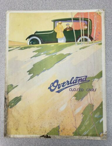 1917 Overland Sales Brochure, Closed Cars