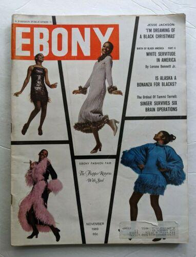 1969 EBONY MAGAZINE JESSE JACKSON BLACK CHRISTMAS TOYS B B KING BLUES FASHION +