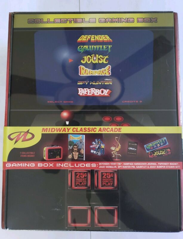 Midway Classic Arcade Gaming Box