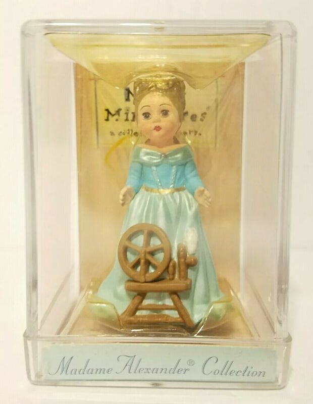 Madame Alexander Doll Merry Miniatures Hallmark Sleeping Beauty 1997 It/307