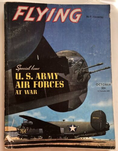 1943 WWII Flying Magazine Special Issue US Army Air Force at War ---360 Pages !!