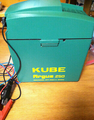 Kube Argus 250 Electric Fencer 9 V 12 V Dc 30 Ma Slightly Used 108