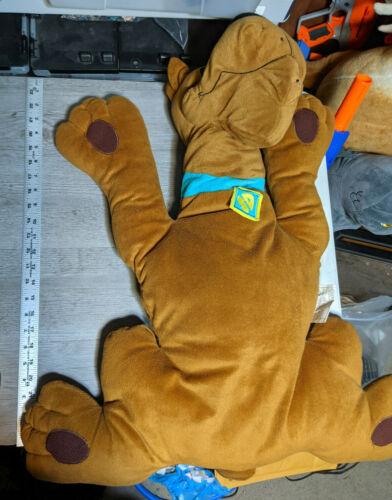 "32""-36"" Scooby Doo Original Pillow Buddies Plush Cartoon Network Toy Stuffed Dog"