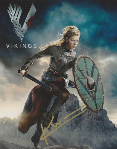 Katheryn Winnick Vikings Autographed Signed 8x10 Photo COA #EE326