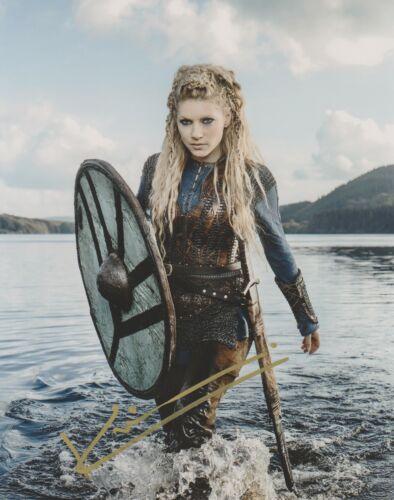 Katheryn Winnick Vikings Autographed Signed 8x10 Photo COA #EE334