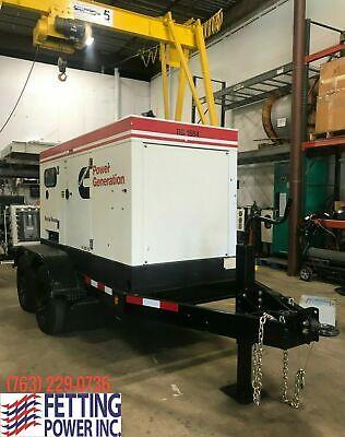 60kw Terex Cummins Mobile Diesel Generator Ot70c Sn Grg-21584