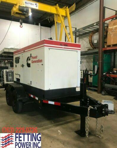 60kW Terex Cummins Mobile Diesel Generator OT70C | S/N: GRG-21584