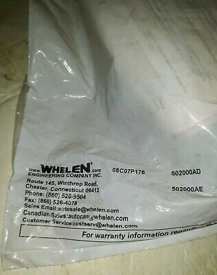 Whelen 502000ad 500 Series Linear Strobe Lighthead Amber New Old Stock From Shop