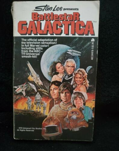 Marvel Stan Lee Battlestar Galactica Comics Comic Format Paperback Book 1978