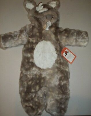 Pottery Barn Kids Woodland Baby Fawn Deer Costume  6 - 12 Months #2047