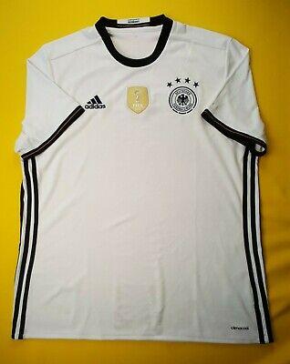 b49f59737 4.8 5 Germany soccer jersey XL 2016 home shirt AI5014 football Adidas ig93
