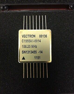 Vectron 156.25mhz Lvpecl 100ppm 3.3v Crystal Oscillator