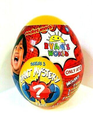 Ryan's World Giant Mystery Egg Orange Series 3