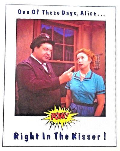 """Honeymooners - Orig. Poster - Ralph & Alice ( POW !) - Exc.+ new cond./ 22 x 28"""""""