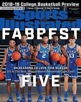 Duke Blue Devils Fabbest Five Sports Illustrated Cover Photo - select size  Duke Blue Devils Cover
