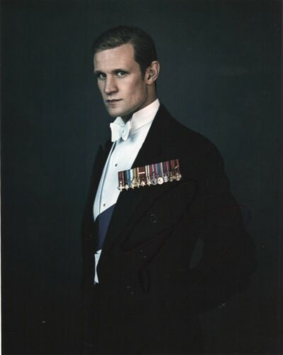 Matt Smith The Crown Autographed Signed 8x10 Photo COA #O5