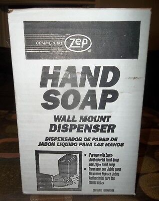 Zep Hand Soap Wall Mount Dispenser New Sealed Hd-66645-1