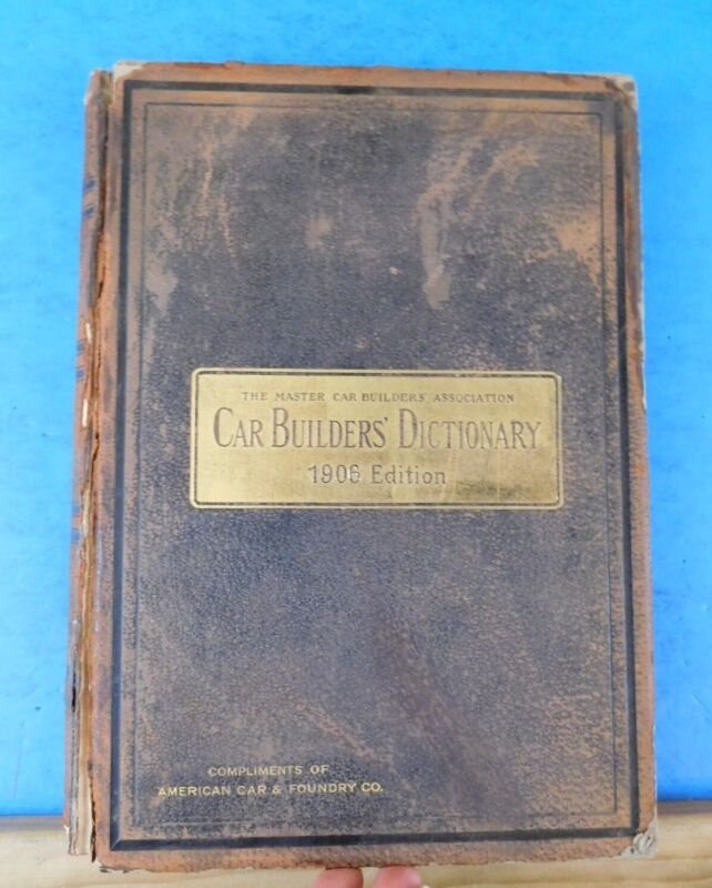 Car Builders Dictionary 1906 edition Illustrations Car Plans Ad