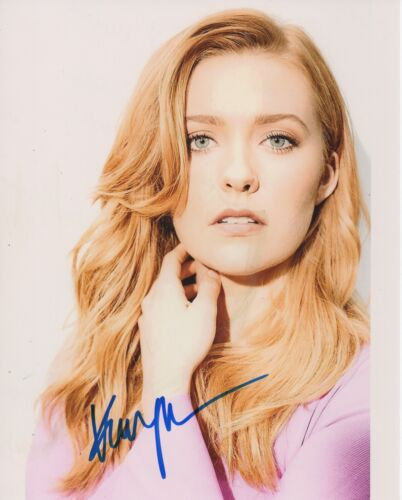 Kennedy McMann Nancy Drew Autographed Signed 8x10 Photo COA 2019-30