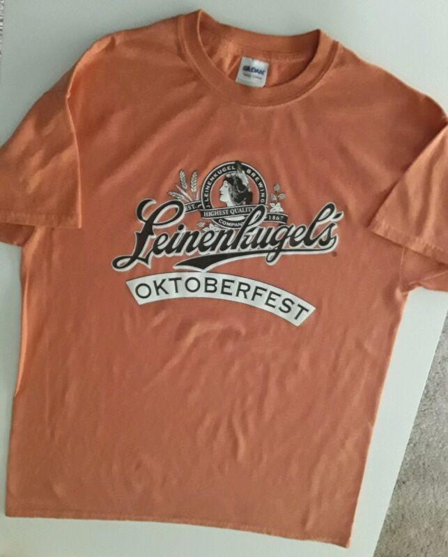 Leinenkugel Brewery Oktoberfest Medium Shirt Beer Tee