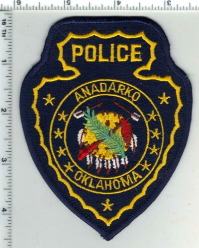 Andarko Police (Oklahoma) 2nd Issue Shoulder Patch