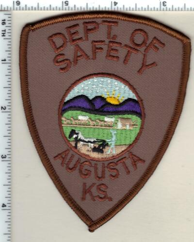 Augusta Dept. of Safety (Kansas) Shoulder Patch - new from 1997