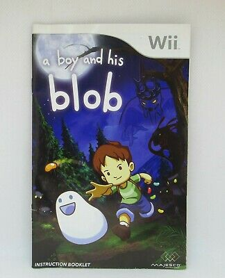A boy and his blob - Nintendo Wii Video Game Complete and Tested