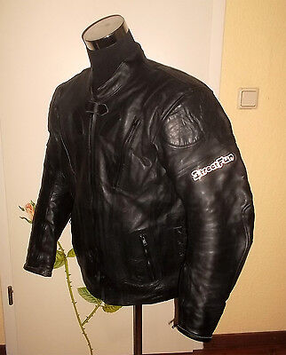 vintage StreetFun Motorrad Lederjacke PRO-TEXION motorcycle leather jacket XL/L