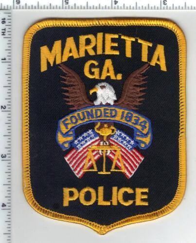 Marietta Police (Georgia) 4th Issue Shoulder Patch