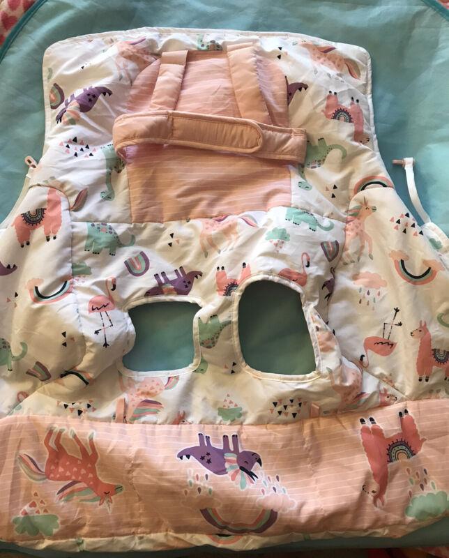 Go Goldbug 2 in 1 Baby Shopping Cart High Chair Cover Llama Unicorn Rhino