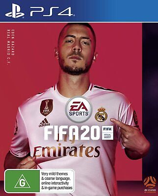 FIFA 20 Playstation 4 PS4 - Brand New - Free Shipping