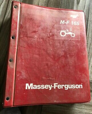 Massey Ferguson Mf 165 Tractor Service Manual