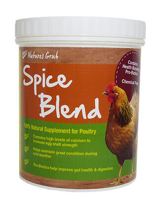 Natures Grub Spice Blend for Poultry 500g, Poultry Spice Supplement, Chicken