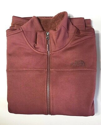 The North Face Women's Timber Full Zip Jacket Barolo Red Sz XXL