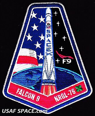 Nrol 76   Usaf   Dod   Nro Classified Satellite   Spacex Falcon 9 Launch Patch