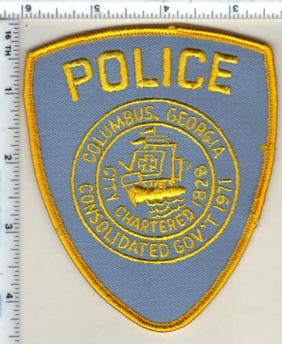 Columbus Police (Georgia)  Shoulder Patch - new from 1990