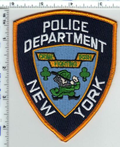 Police Department New York Crime Fighting Irish Novelty Shoulder Patch