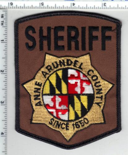 Anne Arundel County Sheriff (Maryland) Uniform Take-Off Shoulder Patch 1980