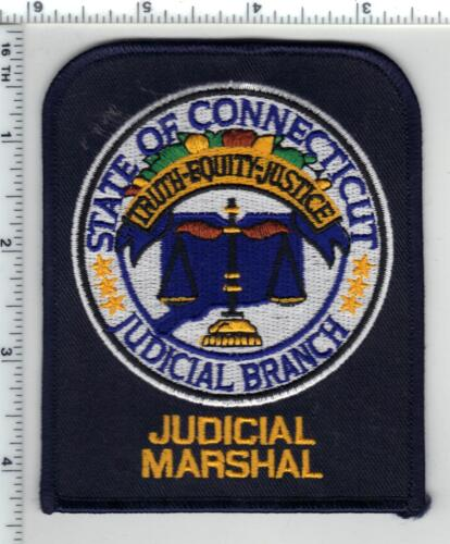 State of Connecticut Judicial Marshal - Shoulder Patch - new