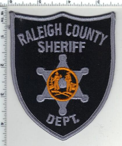 Raleigh Sheriff Dept. (West Virginia) 4th Issue Shoulder Patch