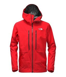 north face powder guide jacket rouge taille large
