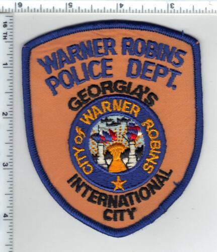 Warner Robins Police (Georgia) 2nd Issue Shoulder Patch