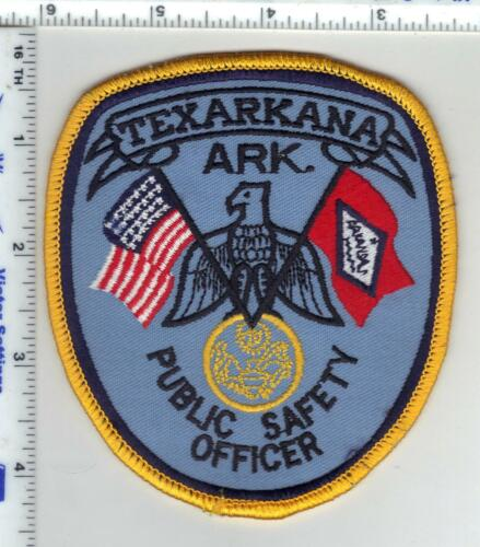 Texarkana Police (Arkansas) 3rd Issue Shoulder Patch